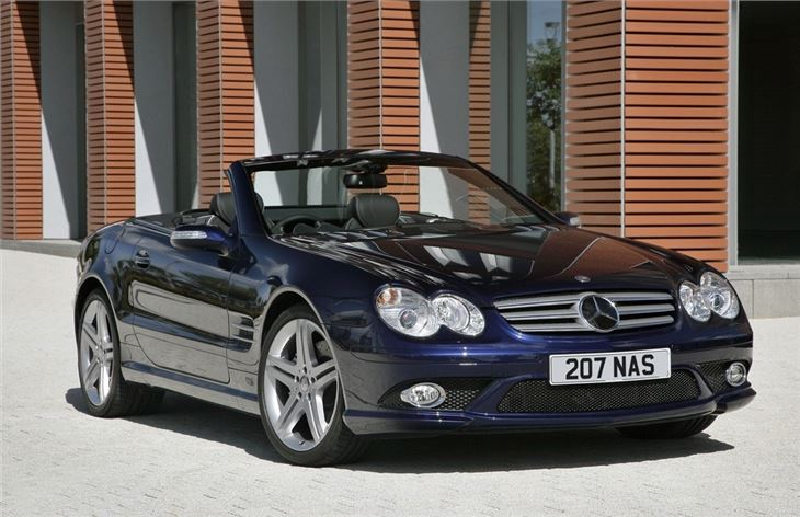 Mercedes benz sl r230 2002 car review honest john for Mercedes benz sl r230