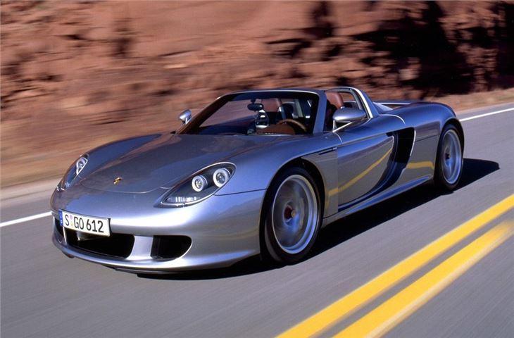 porsche carrera gt 2003 car review honest john