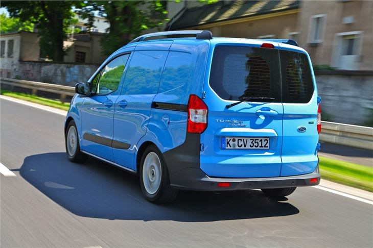 ford transit courier 2014 van review honest john. Black Bedroom Furniture Sets. Home Design Ideas