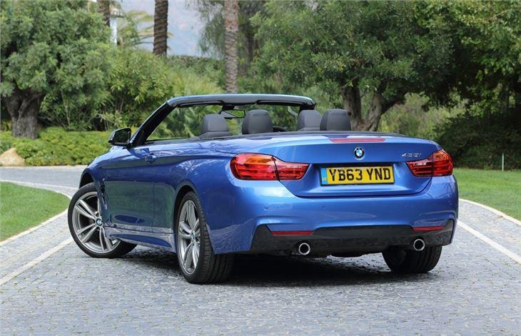 BMW Series F Convertible Car Review Honest John - 2014 bmw 3 series convertible