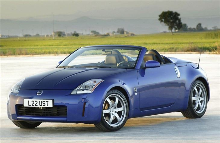 Nissan Z Roadster on Old Car Seats Baby