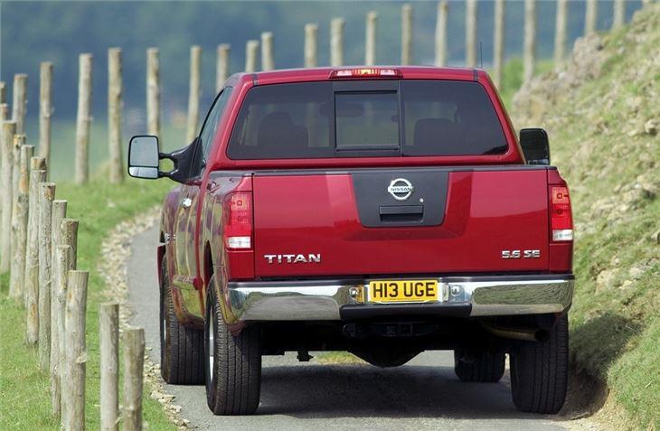 Nissan Titan 2004 Car Review Honest John