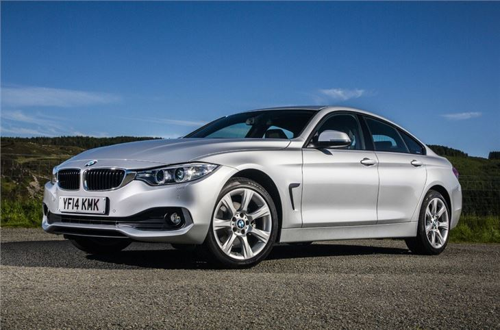 bmw 4 series f36 gran coupe 2014 car review honest john. Black Bedroom Furniture Sets. Home Design Ideas