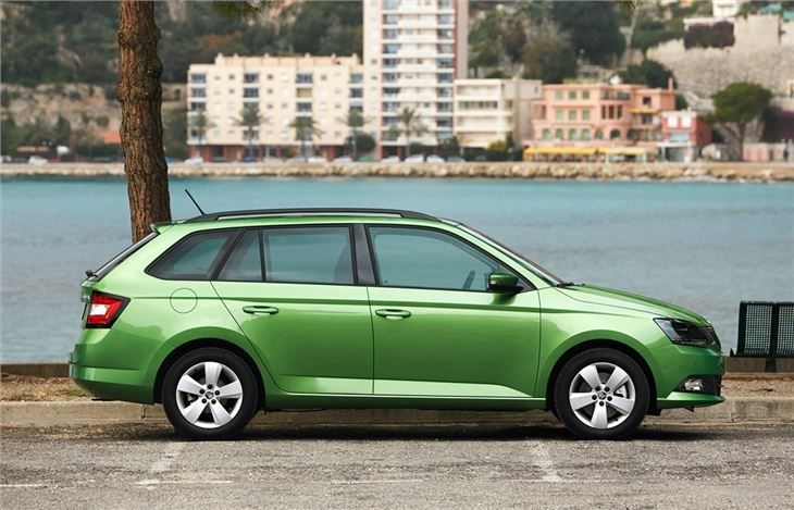 skoda fabia estate 2015 road test road tests honest john. Black Bedroom Furniture Sets. Home Design Ideas