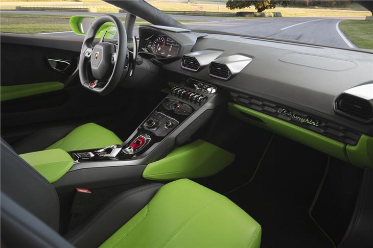 Lamborghini Huracan 2014 , Car Review , Interior