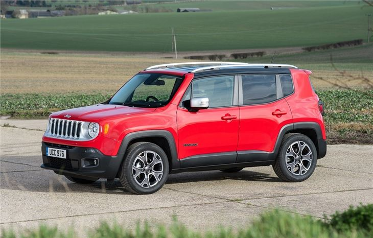 jeep renegade 1 6 multijet road tests honest john. Black Bedroom Furniture Sets. Home Design Ideas
