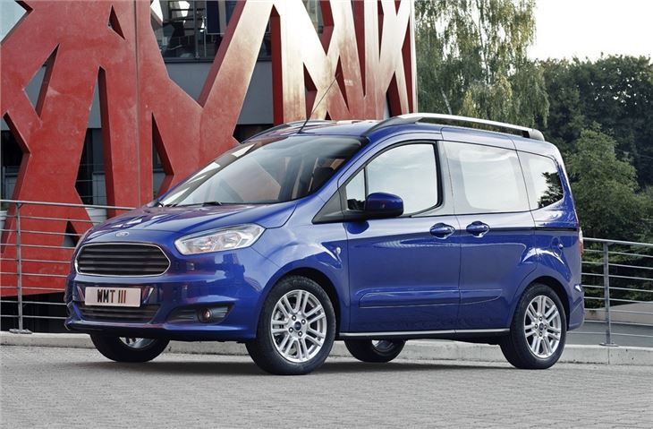 Tourneo Courier 2018 >> Ford Transit Courier Kombi 2014 - Van Review | Honest John