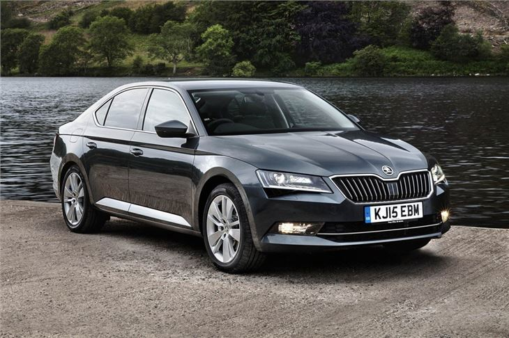 skoda superb 2015 car review honest john. Black Bedroom Furniture Sets. Home Design Ideas