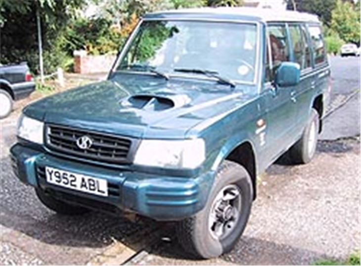 hyundai galloper 1991 car review honest john rh honestjohn co uk Hyundai Grandeur Hyundai Galloper 1982