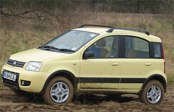 fiat panda 4x4 and diesel 2005 road test road tests honest john. Black Bedroom Furniture Sets. Home Design Ideas