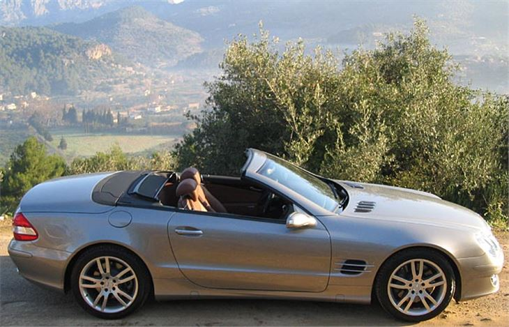 Mercedes benz sl 2006 road test road tests honest john for Mercedes benz sl 350 price