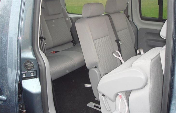 Volkswagen Caddy Maxi Life 7 Seater 2008 Road Test Road
