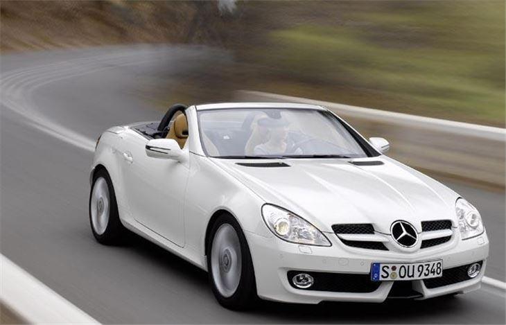 mercedes benz slk350 facelift 2008 road test | road tests | honest john