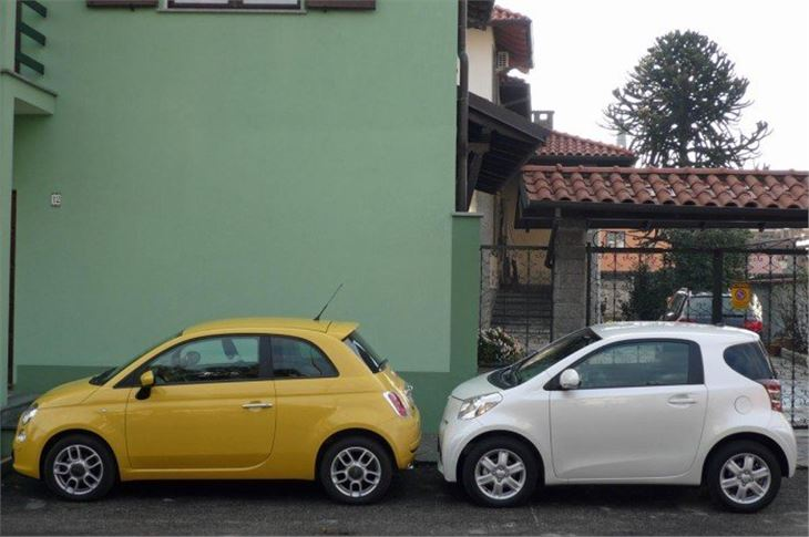 Fiat 500 Mpg >> Toyota IQ 2008 Road Test | Road Tests | Honest John