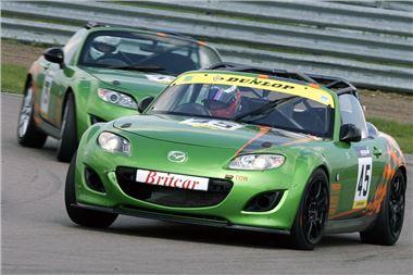 Podium Finish for Mazda MX-5 GT at Rockingham   Motoring News ...