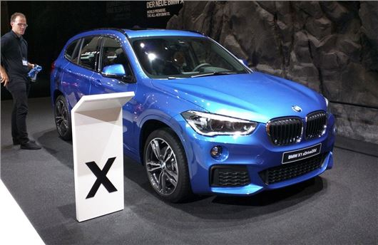 Frankfurt Motor Show New BMW X Launched Motoring News - 2015 new bmw