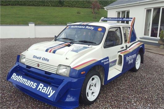 Rothmans Metro 6r4 Leads Autosport Auction Honest John