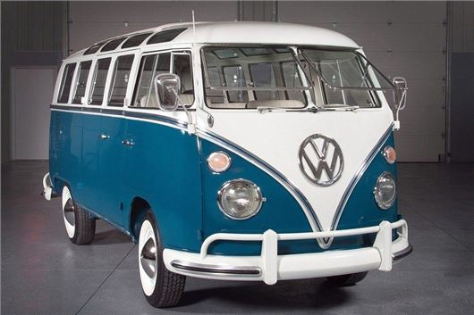 Four Vw T2 Microbuses Sell For 85 800 To 110 000 At