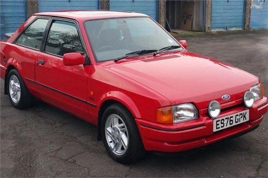 Adrian Flux Insurance >> Ford Escort XR3i makes £13k at auction | | Honest John