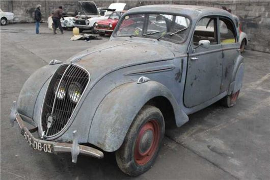 French Barn Finds Head To Auction