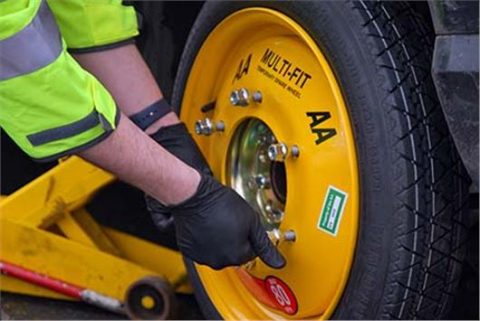 Aa Launches Spare Wheel That Fits Any Car Motoring News