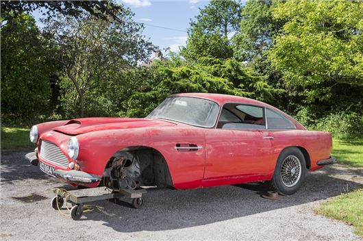 Barn Find Aston Steals The Show At Beaulieu Sale