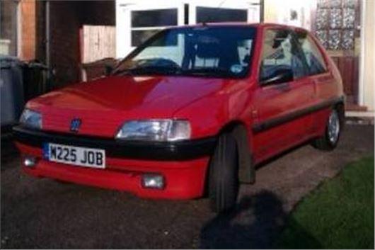 A Grand Monday: Peugeot 106 XS | | Honest John