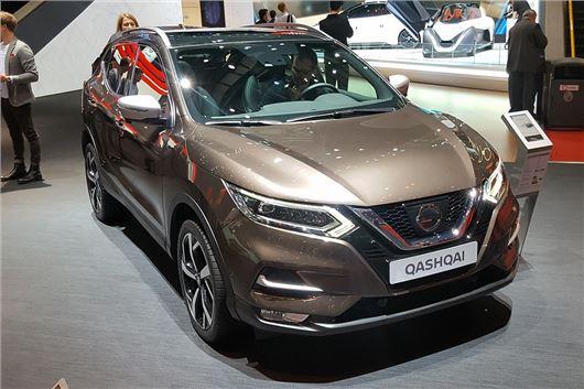 Geneva Motor Show 2017 Nissan Premieres Revised Qashqai Motoring
