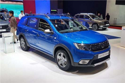 geneva motor show 2017 dacia introduces logan mcv stepway motoring news honest john. Black Bedroom Furniture Sets. Home Design Ideas