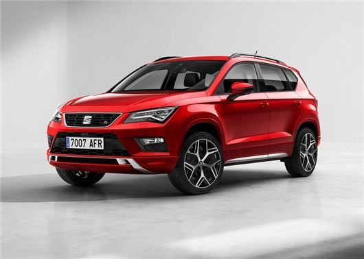 seat launches ateca fr with 190ps petrol engine | motoring news
