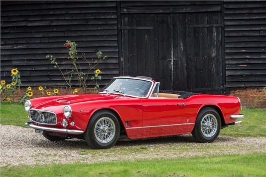 maserati 3500 gt vignale spyder heads to auction | | honest john