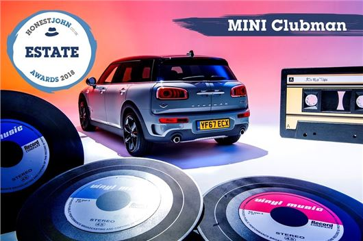 Honest John Awards 2018 Mini Clubman Wins Most Popular Estate Crown
