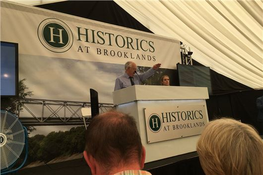 Historics 7th July Brooklands Auction Provisional Results ...