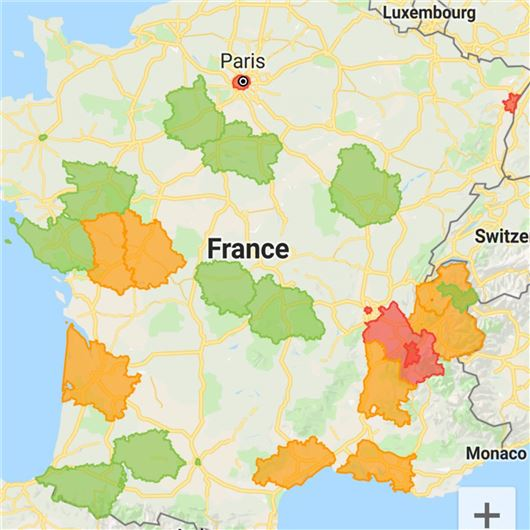 Map Of France Zones.Older Cars Banned From Large Parts Of France Motoring News
