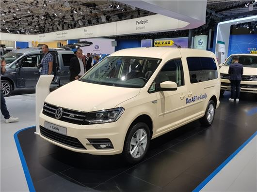 Volkswagen Launches All Electric E Caddy Honest John