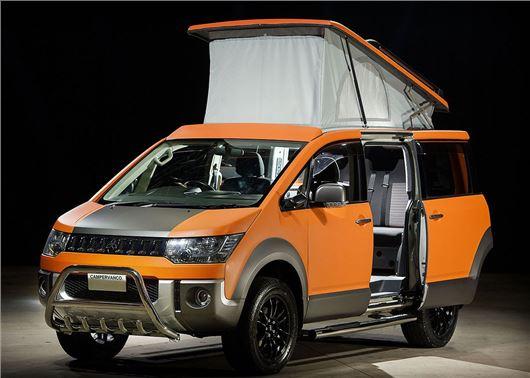 Mitsubishi Delica 4x4 Camper Van Revealed