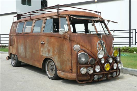 Quick History Of The Vw Camper Van Motoring News