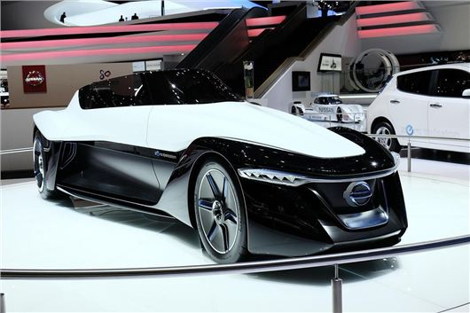 Geneva Motor Show 2014: Nissan BladeGlider concept on show ...