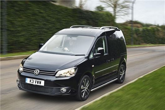 19b27dcff436cf Volkswagen Caddy Black Edition extended by popular demand. Published 14  January 2015