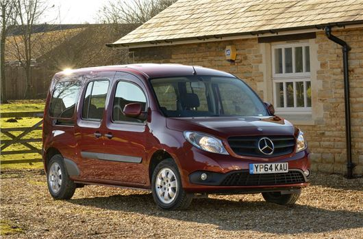 driven mercedes benz citan traveliner extra long honest john. Black Bedroom Furniture Sets. Home Design Ideas