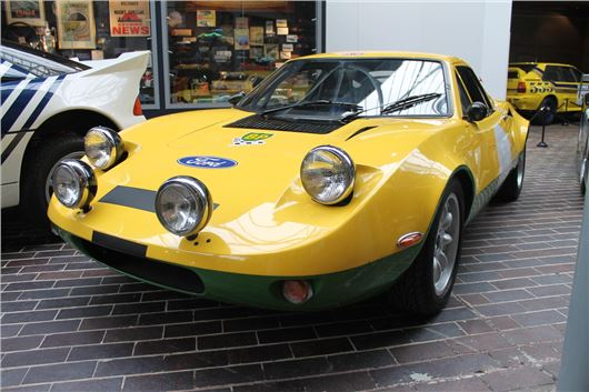 Ford GT70 rally car on show in new motorsport exhibition   Honest John