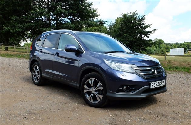 Captivating Our Cars: Honda CR V 2.2 I DTEC