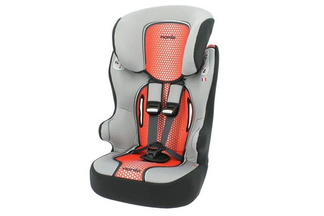 TT Nania Racer Luxe High Back Booster Car Seat Groups 1//2//3 Eco Red