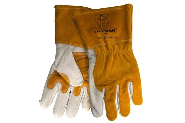 New Durable TIG Finger Welding Gloves Heat Shield Guard Heat Protection Gear YI