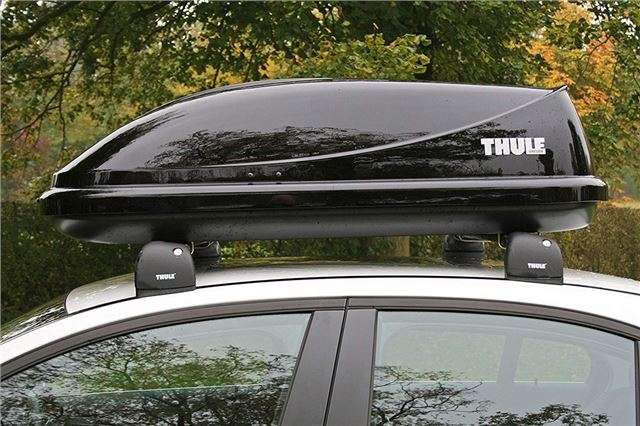 360 Litre Size BRAND NEW THULE Ocean 100 Car Roof Box in Gloss Black