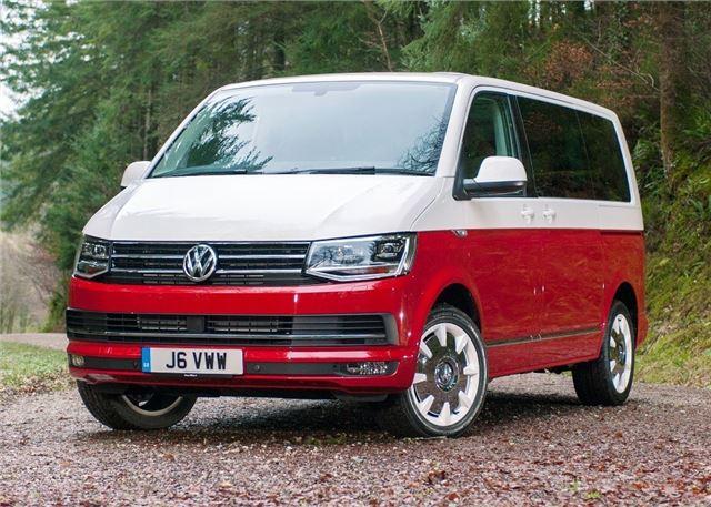 Volkswagen Caravelle T6 2015 Van Review Honest John