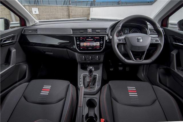 SEAT Ibiza 2017 - Car Review - Interior   Honest John
