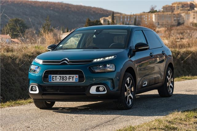 citroen c4 cactus 1 2 puretech 130 2018 road test road tests honest john. Black Bedroom Furniture Sets. Home Design Ideas