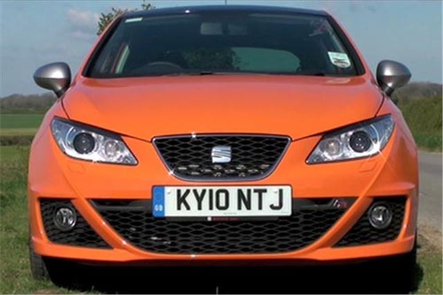 seat ibiza fr 2010 twin test road tests honest john. Black Bedroom Furniture Sets. Home Design Ideas