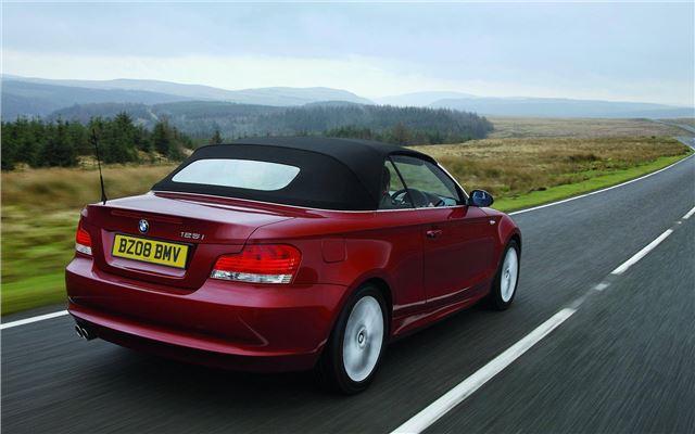 bmw 1 series convertible 2008 car review honest john. Black Bedroom Furniture Sets. Home Design Ideas